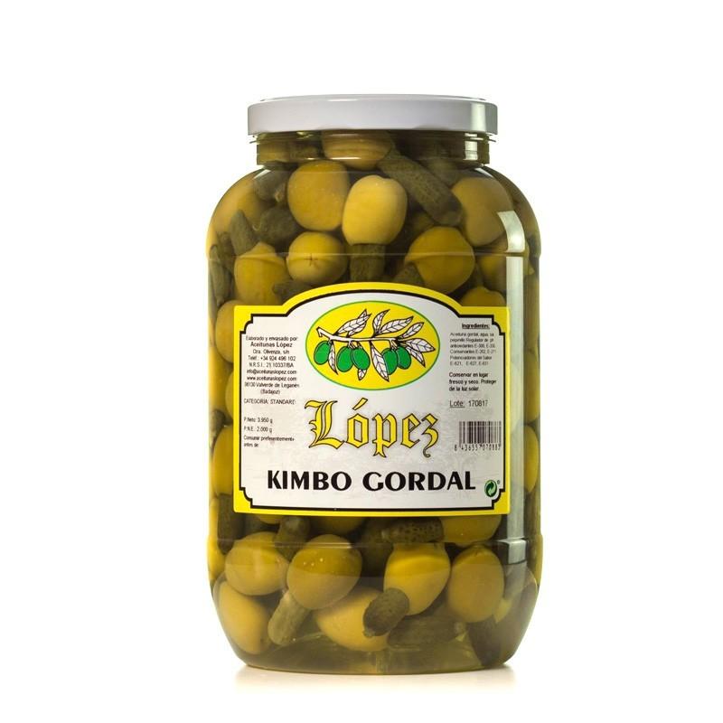 Kimbo Gordal (Aceituna Gordal Rellena de Pepinillo)