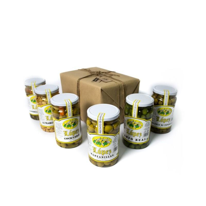 Pack 6 Tarros PET - Aceituna y Encurtidos
