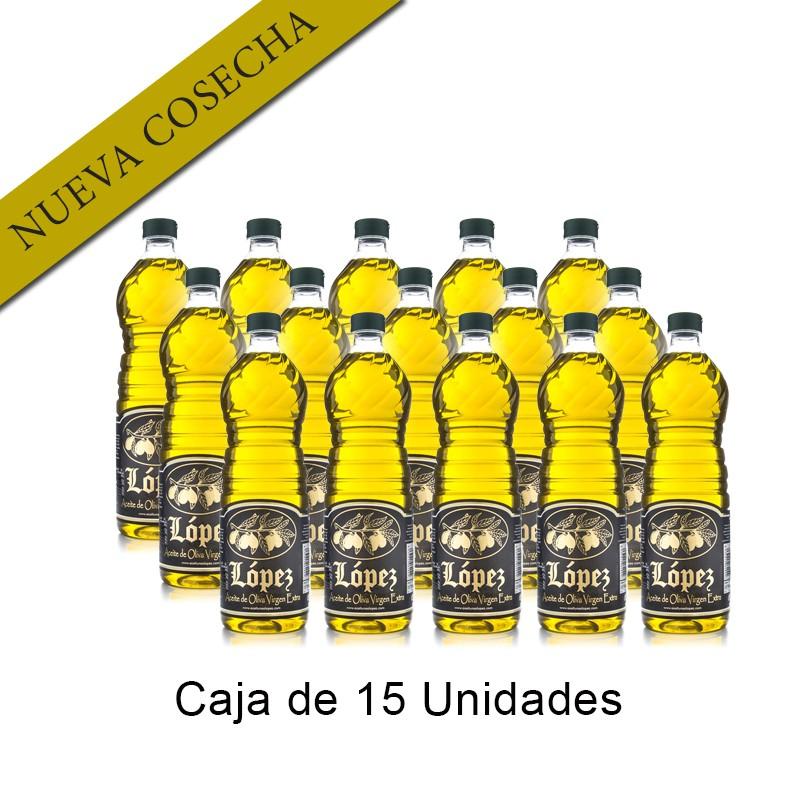 Caja 15 Litros Aceite de Oliva Virgen Extra