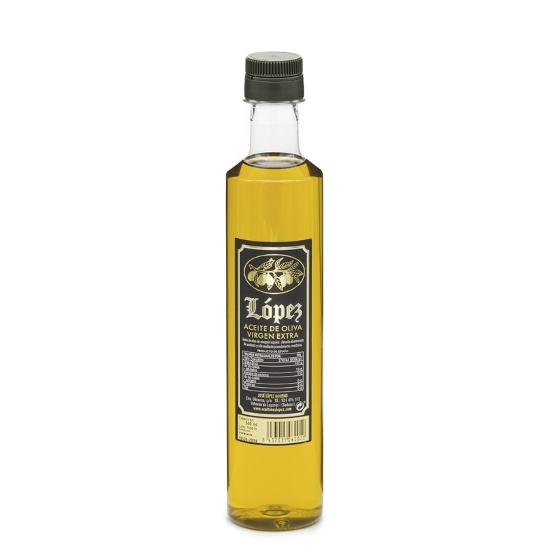 Aceite de Oliva Virgen Extra Botella 500ml Irrellenable