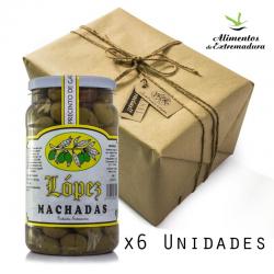 Pack 6x1200 Aceitunas Machadas