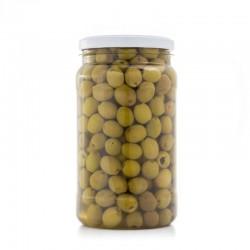 Aceitunas Deshuesadas Sabor Anchoa - Envase PET 1.200 g. Peso NEto